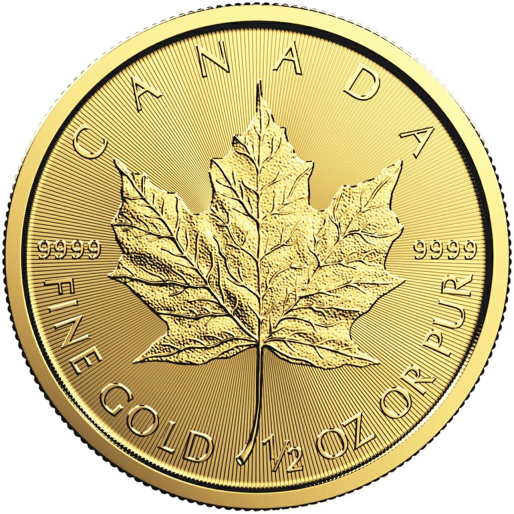 1 2 oz maple leaf gold coin