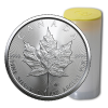 25 x 1 oz Silver Maple Leaf - 2021 - RCM - Tube