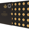 25 x 1 Gram Gold Maplegram25 - 2021 - RCM